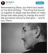 Tim Cook's tweet celebrating Steve Jobs' birthday hijacked by Ethereum scammers