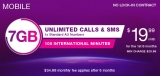 TPG Mobile: 7GB data plus unlimited calls, text for $19.99, six months only