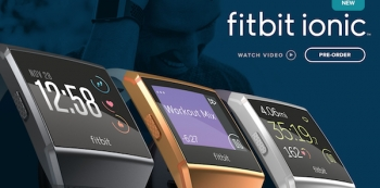 VIDEO: Fitbit Ionic is not ironic, but a health and fitness smartwatch