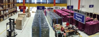 Inside HDS's Asia Pacific distribution centre