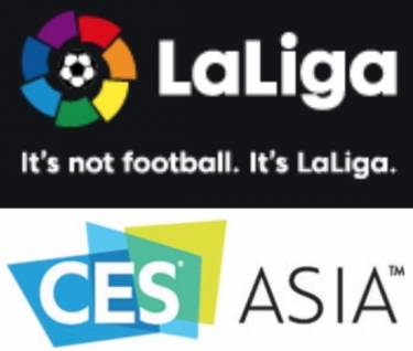 FULL VIDEO: LaLiga showcases its amazing technology, digitally transforming soccer at CES Asia 2018