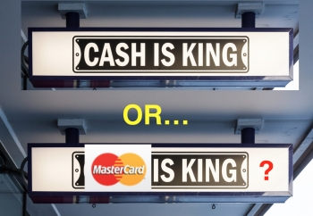 MasterCard survey suggests 'cash no longer King' for Aussie shoppers