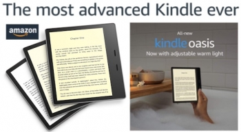 New Kindle's Oasis of reading happiness with best Paperwhite display yet