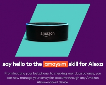VIDEO: Amaysim graces customers with Amazon Alexa voice command skills