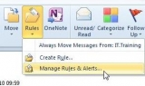 Stop using Outlook rules and start managing your email