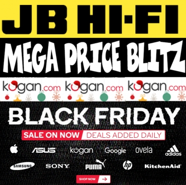 It's the week of Black Friday, and the deals are already arriving from Kogan, JB Hi-Fi and others