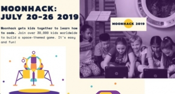 Moonhack: Can 50,000 kids code simultaneously, break record and celebrate 50th moon landing anniversary?