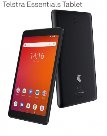Telstra's Essentials 8-inch Android tablet for $129 even makes phone calls