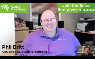 VIDEO Interview with a Telco Titan: Phil Britt, CEO, Aussie Broadband