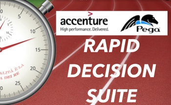 Accenture decides and deploys Pega's rapid decisioning suite to accelerate client revenue growth
