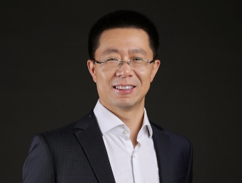New Huawei Australia chief executive Haosheng Liu.