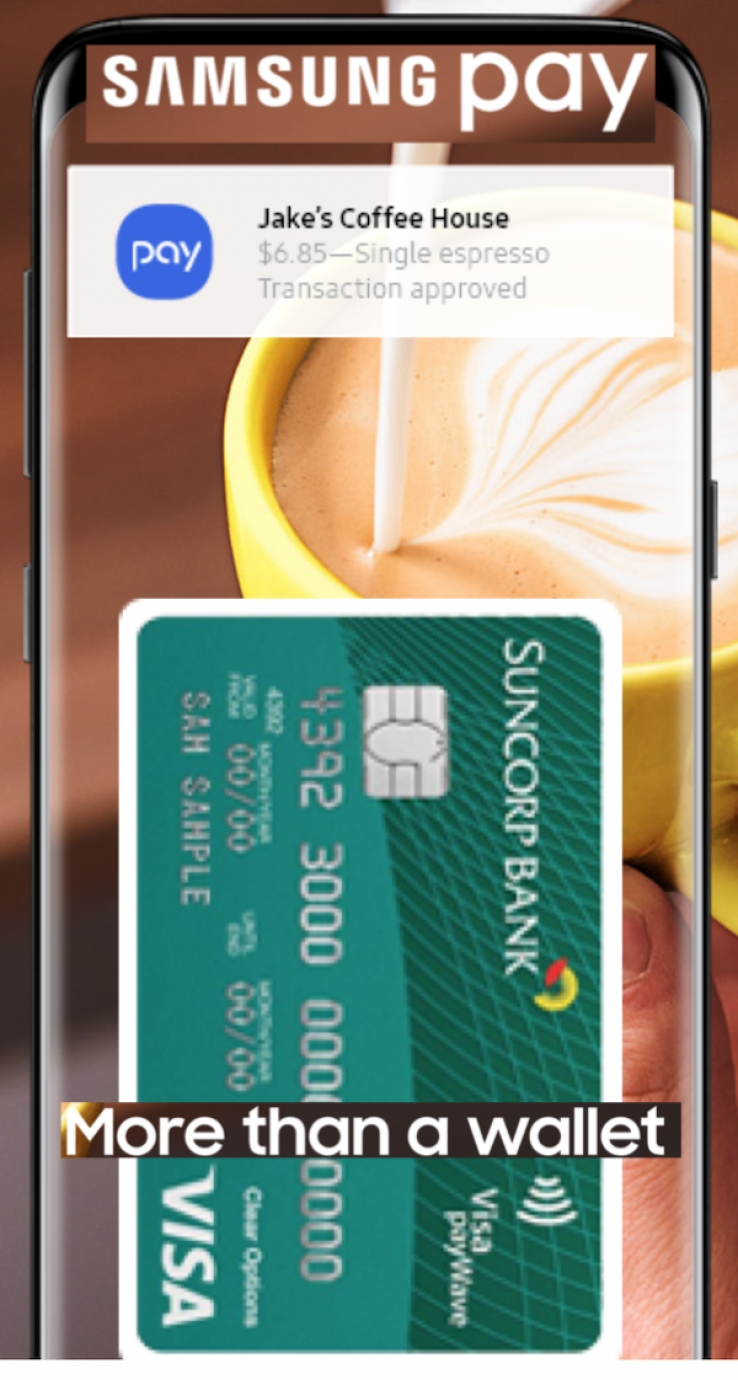 Itwire suncorp shines on samsung pay suncorp shines on samsung pay reheart Gallery