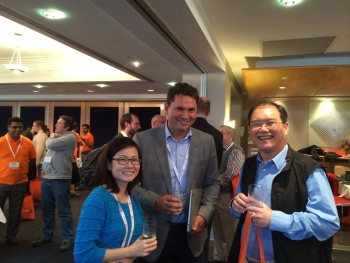D2L's John Baker at the Ignite Conference, held in Melbourne earlier this week
