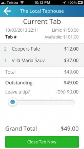 Don't pay your bar tab - Clipp it instead