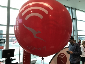 Qantas launches fast, free on-flight Wi-Fi