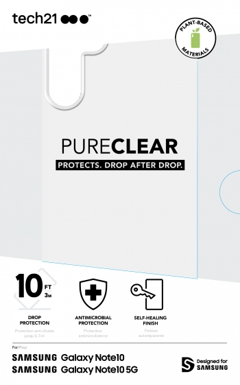 Tech21 launches cases for Note10, 10+ and 5G with antimicrobial options