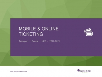 Big global shift to contactless ticketing on mobile, wearables: Juniper