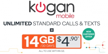 Kogan Mobile's cunning $tunt: $4.90 for 14GB with unltd calls and text
