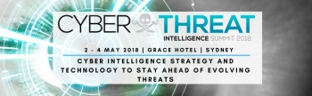 Stay abreast of the latest threats: Cyberthreat Intelligence Summit Sydney, 2-4 May 2018