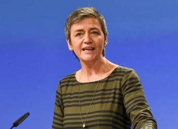 European Union competition commissioner Margrethe Vestager.