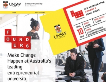 FULL VIDEO: UNSW Founders 10x Accelerator Demo Night 2019 – 3rd cohort of start-up successes