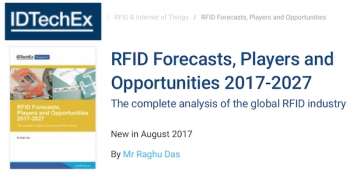 RFID market to reach US $11.2b in 2017, plenty of room to grow