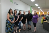Aussie Broadband Learn Local team:Tania Sacco, Hallam Community Learn Local, Amanda Wright, Hallam Community Learn Local, Catherine White, Aussie Broadband, Denise Chalmers, Lynbrook Aussie Broadband, Kevin Salerno, Aussie Broadband & Janet Granger-Wilcox, Aussie Broadband