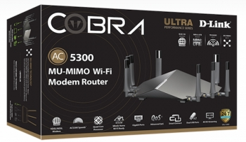 VIDEO: D-Link to crush competitors with 'fastest ever AC5300 MU-MIMO Modem Router'