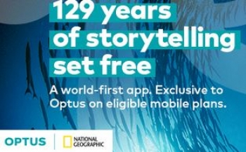 Optus and National Geographic team up