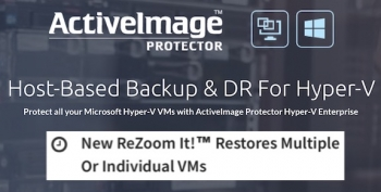 ActiveImage says ReZoom it! Live can 'slash time-gap between failure and recovery', selects new distributor