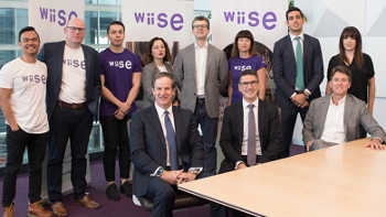 Staff at the launch of Wiise.