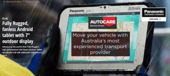 Autocare streamlines automation of vehicle movement processing with Toughpad
