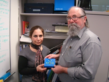 PhD student Azadeh Nazemi and Senior Lecturer Dr Iain Murray of Curtin's Department of Electrical and Computing Engineering developed a digital reading system for people who are blind, allowing them to graphical material