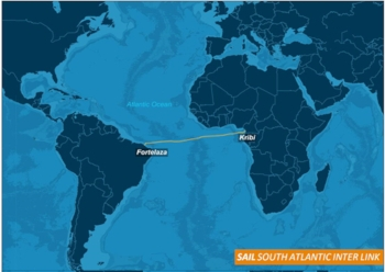 Huawei Marine completes first cable link between Americas and Africa
