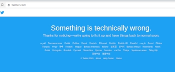 Twitter hit by global outage, users left with nowhere to complain