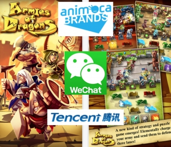 Animoca's Armies of Dragons in exclusive Tencent WeChat distribution deal