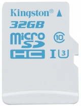Kingston Class 3, UHS-I, microSD for GoPro and drone camera