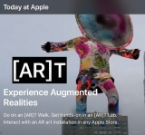 Apple takes art to next level with new Augmented Reality Art Sessions