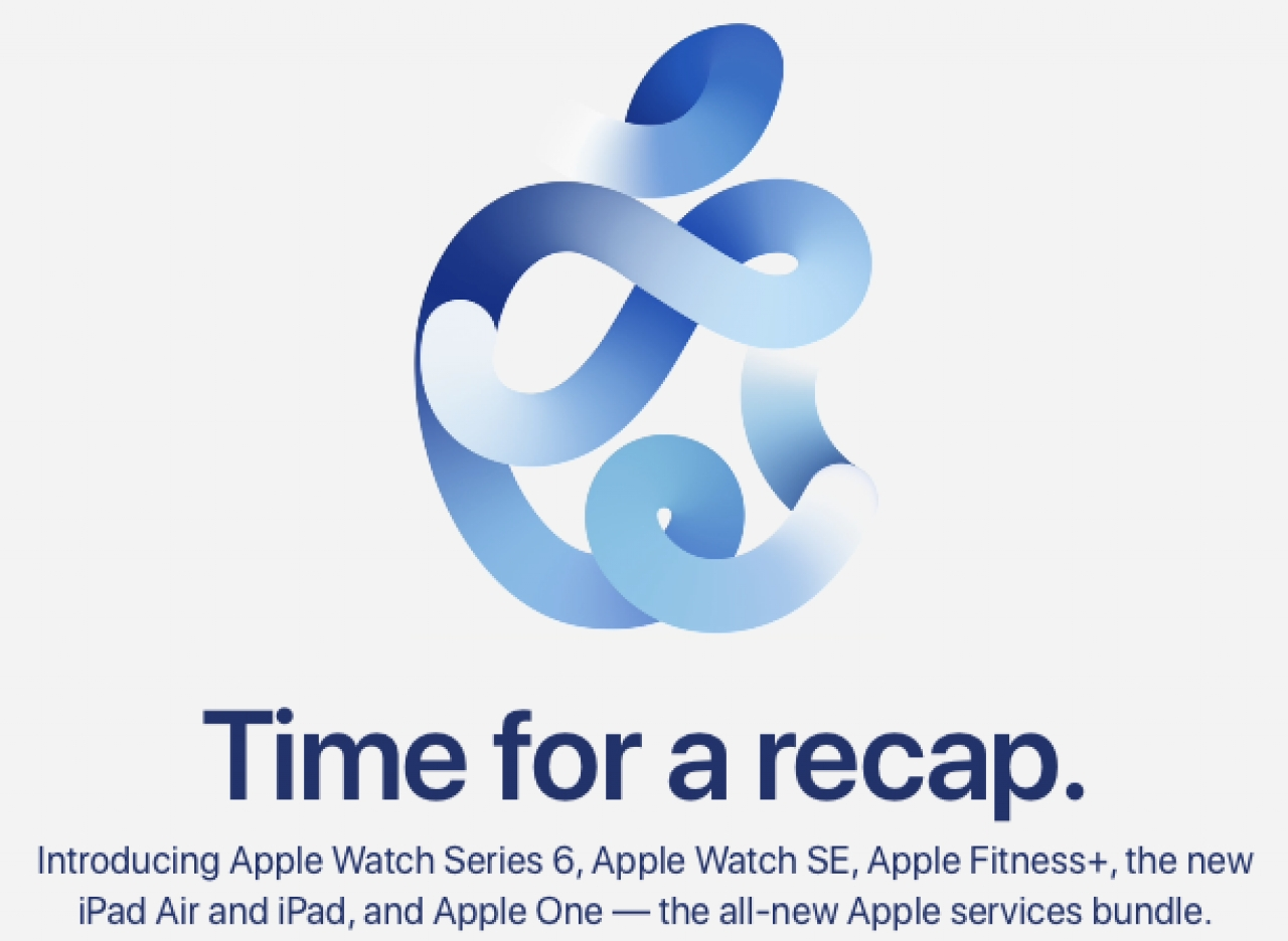 Itwire Must Watch Apple S Sept 2020 Keynote With New Ipads Watches Os Updates And More