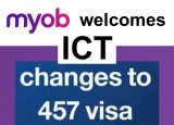 MYOB minds govt business and welcomes 457 visa changes, too