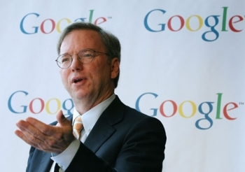 Google's Schmidt drew up draft plan for Clinton in 2014
