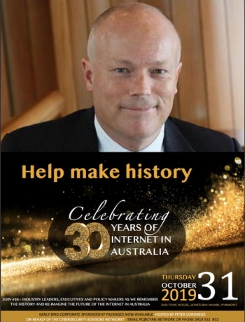 30iGala: Alastair MacGibbon to speak at Internet Gala Event, plus how to win a free ticket