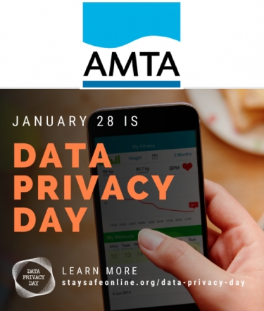 AMTA reminds Aussies about privacy on 28 January, International Data Privacy Day, with six top tips