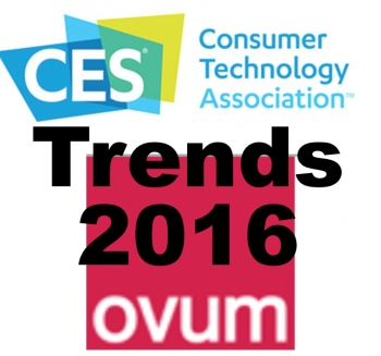 Oh, vroom! Ovum's 10 trends from CES 2016