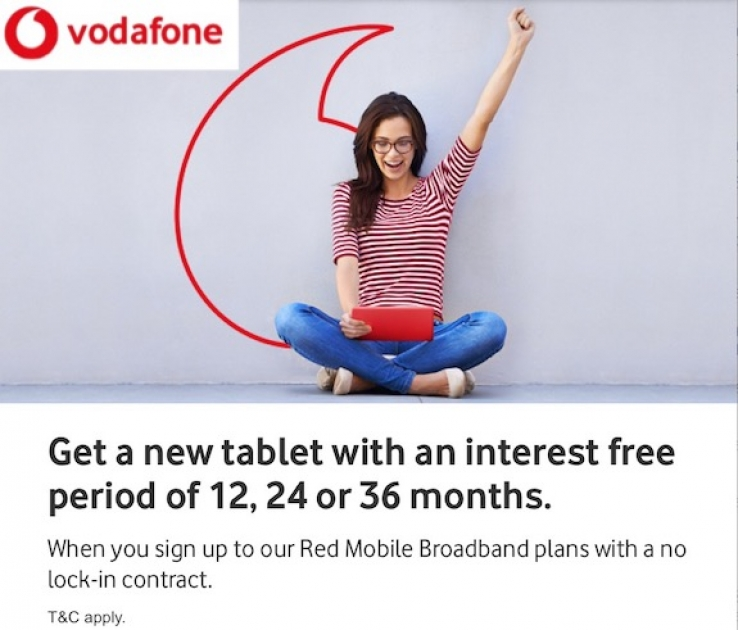 iTWire - Vodafone revamps tablet and mobile broadband plans