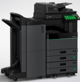 Toshiba's erasable toner laser printer – environmentally friendly