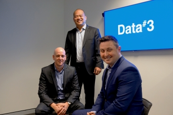 Data# WA new apppintments, l to r : Craig Ellis, Infrastructure Solutions Manager, Desmond Phua, Professional Services Manager and Mark Ehlers, Licensing Sales Manager