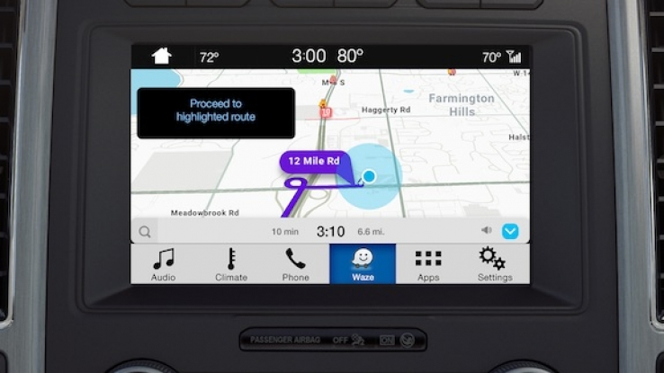 iTWire - VIDEO: See Waze on Ford cars with Sync 3 screens