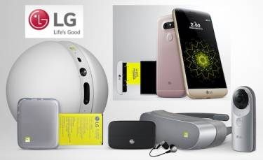 VIDEOS: LG's G5: a 'modular' smartphone with amazing mod-cons