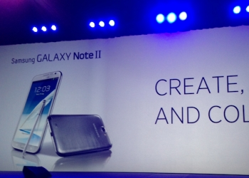 Stage at Galaxy Note II Launch in Australia - Live Blog